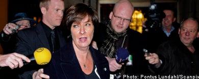 Sahlin criticized for Nuder sacking