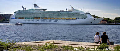 Cruise ships flock to Stockholm