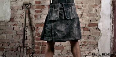 Sturdy skirt a hit with Swedish workmen