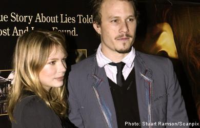 Ledger's ex to leave Sweden after star's death