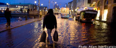 Storm causes power cuts and flooding