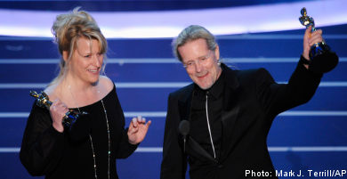 Swede wins Oscar for sound