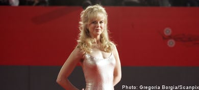 Kidman swimsuit auctioned off in Sweden to buy cows