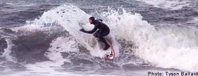Surf's up in Sweden