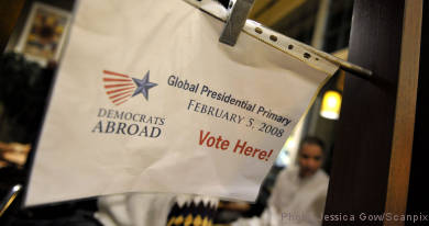 Americans in Sweden head to the polls