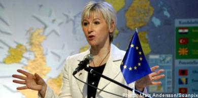 "Wallström blasts EU as ""boys' club"""