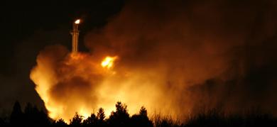 Huge blaze at Cologne plant extinguished