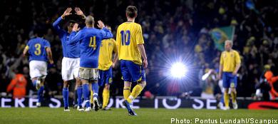 Sweden sunk by dazzling debutant