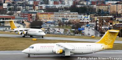 Bromma airport's future safe for three more decades