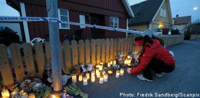 Child murder suspect denies involvement
