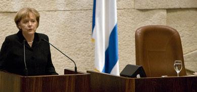 Merkel: Shoah binds Germany and Israel forever
