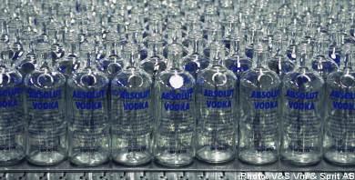Unions reject Swedish bid for Absolut vodka