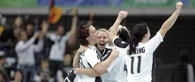German handball team scores place at Olympics