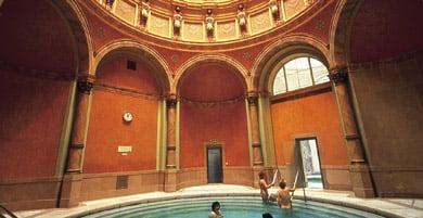 Bathing in Baden-Baden