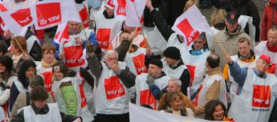 Germany threatened by massive strike