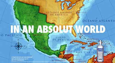 Mexico reclaims California in Absolut Vodka advert