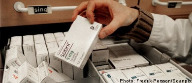 More elderly Swedes prescribed antidepressants