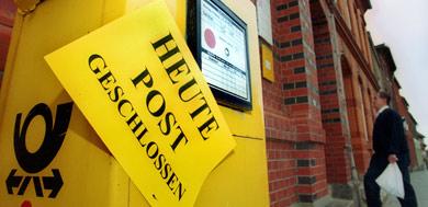 Deutsche Post workers to strike
