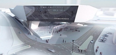 New Porsche museum slow and over budget