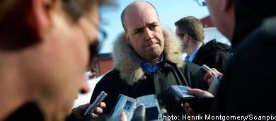 Reinfeldt rules out Olympic boycott