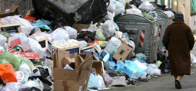 Italian rubbish arrives in Germany