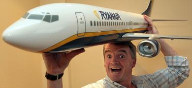 Ryanair boss: high oil prices will break German rival