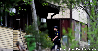 Man held over double murder in Stockholm