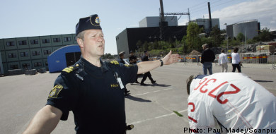 Two arrests in nuke plant bomb plot