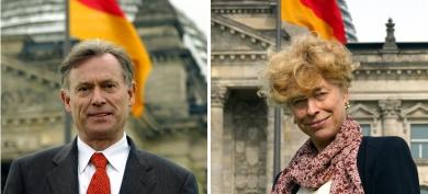 German coalition squabbles over SPD presidential pick