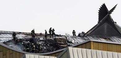 Berlin Philharmonic catches fire