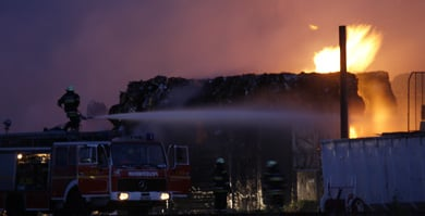 Massive blaze breaks out in central Berlin