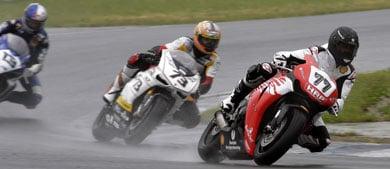 Schumacher qualifies at the Superbike championships