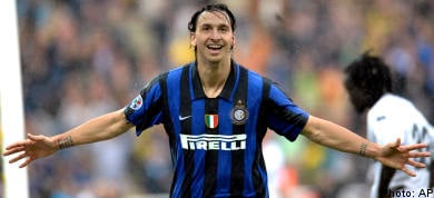 Zlatan on the double as Inter clinch title