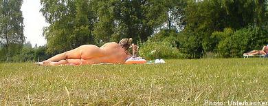 Plenty to see at nudist B&B