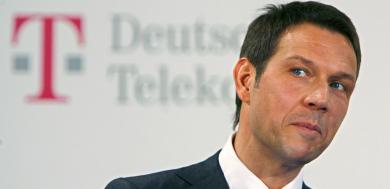 Telekom mum on Sprint as earnings beat forecasts