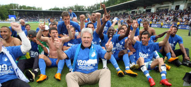 Moneyed upstarts storm German football
