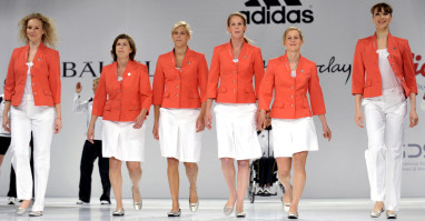 German Olympic uniform derided