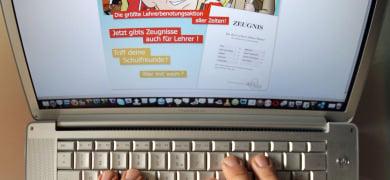 German teachers subject to internet harassment