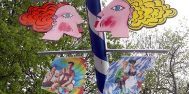 Vandals target Munich's first gay maypole
