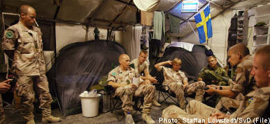 Sweden sends extra troops to Afghanistan