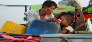 Merkel slams Myanmar's aid stance