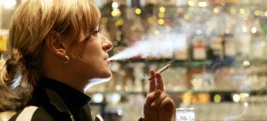 Smoking ban dents German cigarette sales