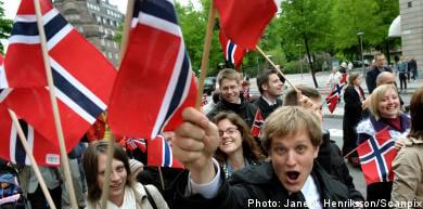 Norwegians celebrate National Day in Stockholm