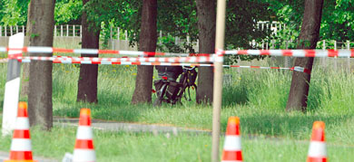 German man killed in shoot-out with police