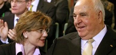 Former German chancellor Kohl marries partner