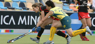 Aussies slump to German field hockey squad
