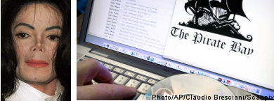 Michael Jackson to sue The Pirate Bay