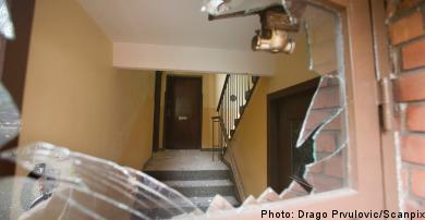 Bomb shakes Malmö apartment building