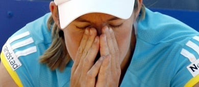 German Open: Williams through as Henin turfed out