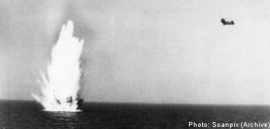 Soviet 'sub' was Swedish charter boat